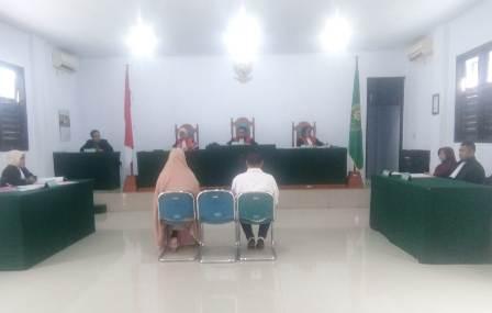Ketgam : Pengadilan Negeri (PN) Unaaha menggelar sidang lanjutan perkara dugaan tindak pidana penyerobotan lahan yang terletak di Kecamatan Lambuya