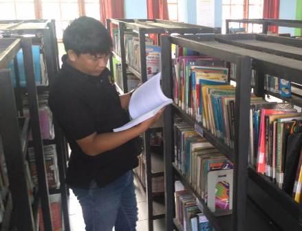 Ketgam : Pengujung Perpustakaan Konawe