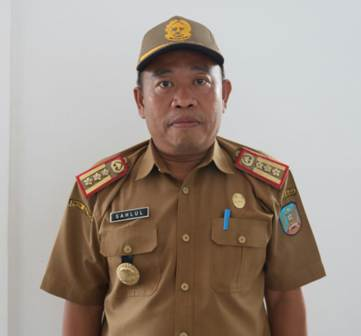 Ketgam : Kepala BKAD Konsel Sahlul