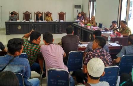 ketgam : RDP bersama masyarakat Paku Jaya