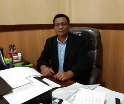 Ketgam : Komisioner KPU Kota Kendari Asril