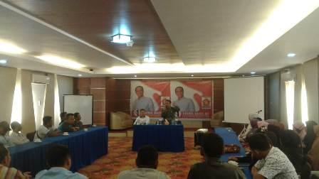 Ketgam : Haerul Saleh melakukan konsolidasi partai