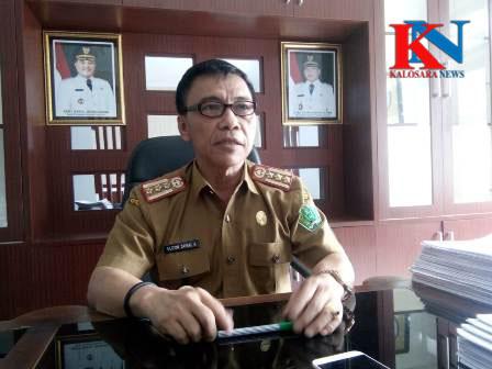 Ketgam : Dinas Badan Kepegawaian Daerah (BKD) Konawe Elizon Zainal Ahudin