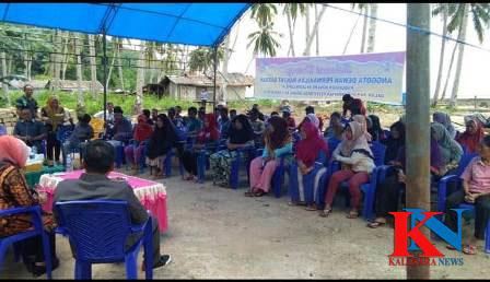 Ketgam : Suasana reses para anggota DPRD Konsel di Desa Batu Jaya, Kecamatan Laonti