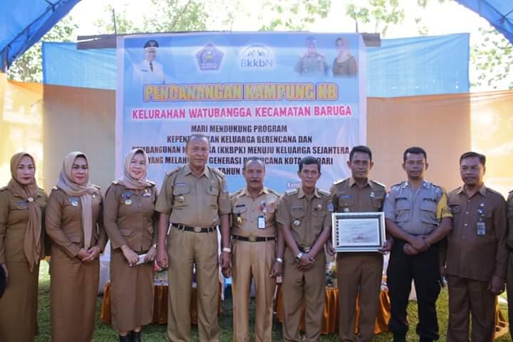 Pemerintah Kota Kendari mencanangkan Kelurahan Watubangga sebagai Kampung Keluarga Berencana (KB)