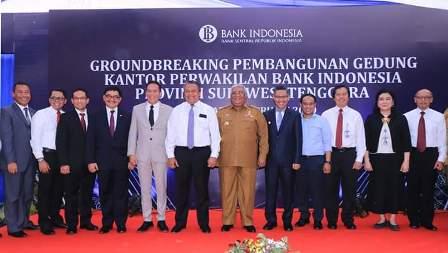 Serah terima Jabatan KPw Bank Indonesia Provinsi Sulawesi Tenggara