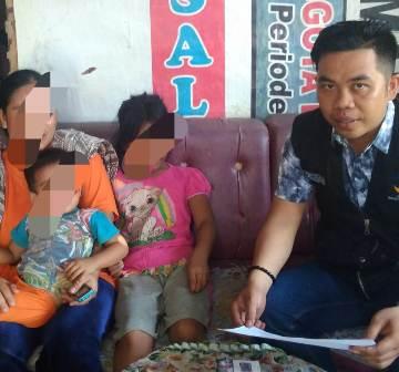 Ketgam : Proses pendampingan pekerja sosial terhadap korban anak pencabulan yang dilakukan oleh ayah tiri korban.