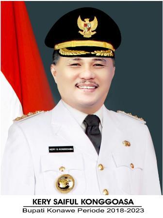 Ketgam : Bupati Konawe, Kery Saiful Konggoasa.