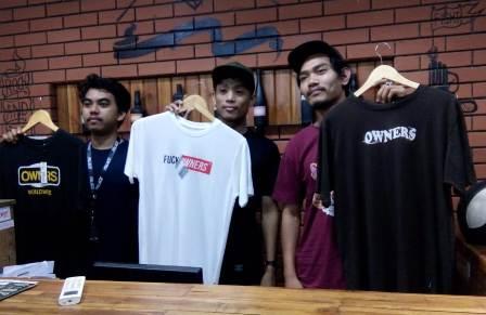 Ketgam : Baju owners