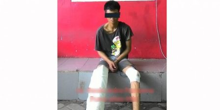 Ketgam : Ketgam : RK (18) pelakuRK (18) pelaku
