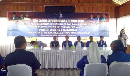 Ketgam : Pembukaan Konsolidasi Pemenangan Partai PAN Pemilu 2019