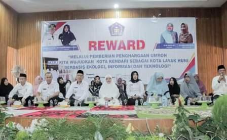 Ketgam : Reward 30 Orang Jamaah Masjelis Taklim yang akan di berangkatkan Umroh gratis oleh wali kota kendari