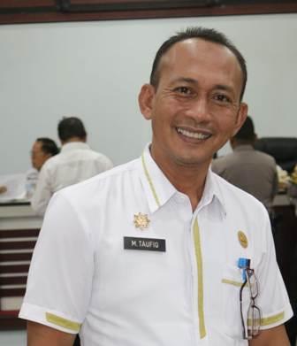 Ketgam : Kabag Humas Setda Konsel, Muh Taufiq Amin Lar, AP M. Si
