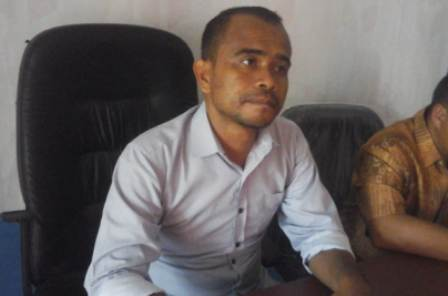 ketgam : Ketua Bawaslu Kendari Sahinuddin