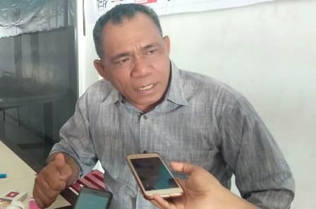 Ketgam : Komisioner KPU Sultra Devisi Parmas Almunardin