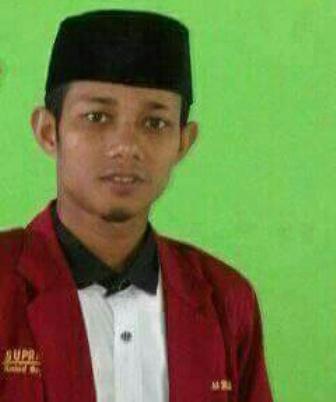 Ketgam : Ketua Umum DPD IMM Sultra, Supratman