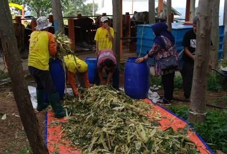 Ketgam : Saung Berkarya Hambalang, Kabupaten Bogor