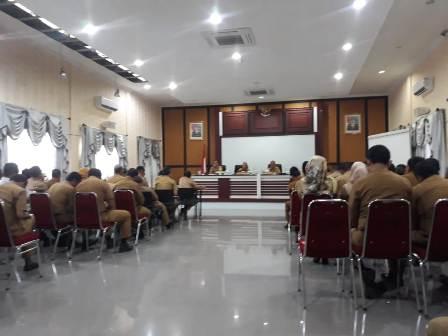 ketgam : Rapat Pemantapan Persiapan HUT konsel dan STQ yang di pimpin oleh Bupati Konsel Surunuddin Dangga