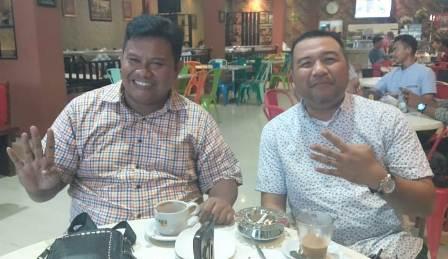 Ketgam : ARF bersama AJP saat di temui di Kopi Kita Kafe