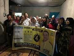 Ketgam : Relawan Aksan Jaya