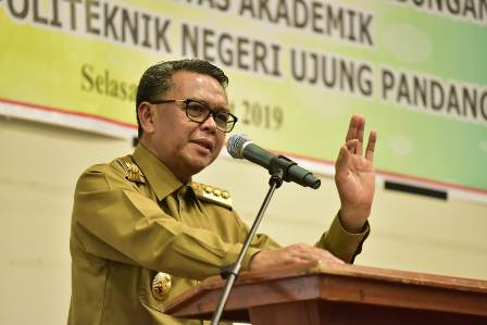 Ketgam : Gubernur Sulawesi Selatan HM Nurdin Abdullah