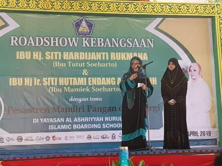 Ketgam : Siti Hardiyanti Rukmana yang kerap disapa Mbak Tutut