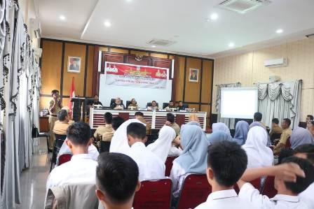 Ketgam : Pendidikan Politik Pemilih Pemula di Kabupaten Konawe Selatan