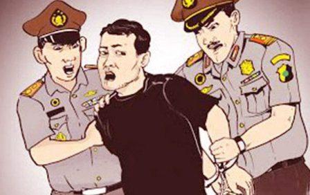 Ketgam : ilustrasi-penangkapan
