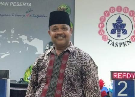 Ketgam : Kepala Seksi Pelayanan dan Pemasaran PT Taspen Persero Kendari