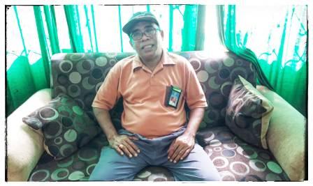 Ketgam : Kasi Bimas Islam Kementrian Agama Kabupaten Muna, La Ode Abdul Syukur