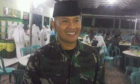Komandan Kodim (Dandim) 1417 Kendari, Letkol Cpn Fajar Lutvi Haris Wijaya
