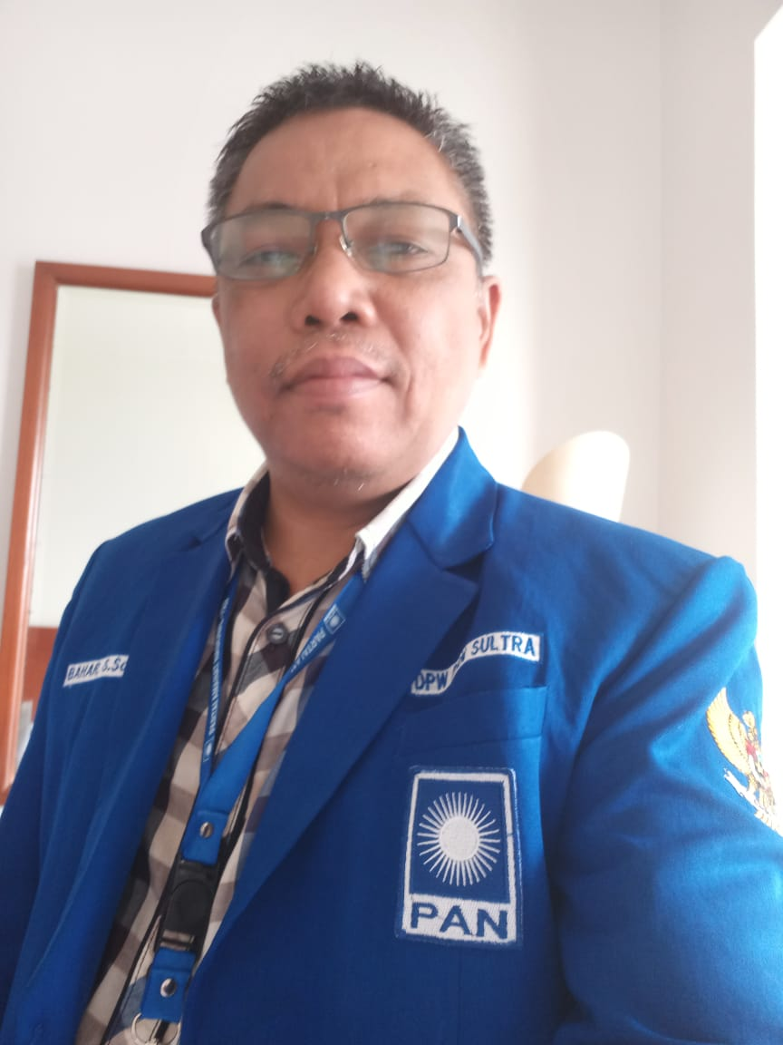 Ketgam : Sekretaris Komite Pemenangan Pemilu Wilayah DPW PAN Sultra Bahar