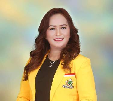 Ketgam:Ketua KPPG Sultra FARHANA MALLAWANGAN,SE
