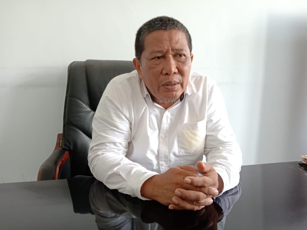 Ketgam : Kepala Dinas Pekerjaan Umum (PU) Konawe Syahrullah Saranani
