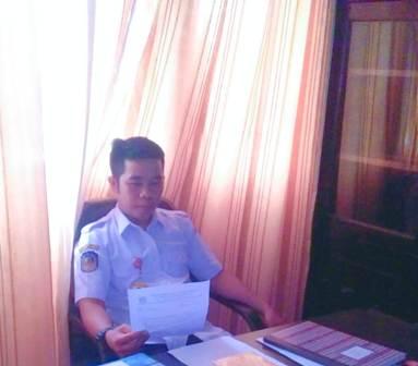 Ketgam : Ketua Umum LPPSB Konsel Helvin Ezza