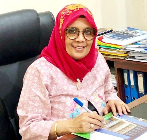 Rektor Institut Agama Islam Negeri (IAIN) Kendari, Prof. Dr. Faizah Binti Awad, M.pd