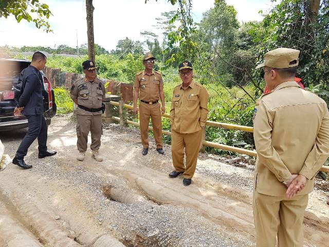 Ketgam : Bupati Konawe Selatan terkejut melihat pekerjaan ruas jalan yang belum layak