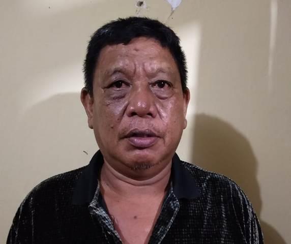 Ketgam : As (54) asal Desa Mandoke Kecamatan Lalembuu Kabupaten Konawe Selatan (Konsel), Sultra