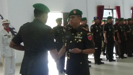 Ketgam : Kolonel Kav Hendi Suhendi S.Sos.
