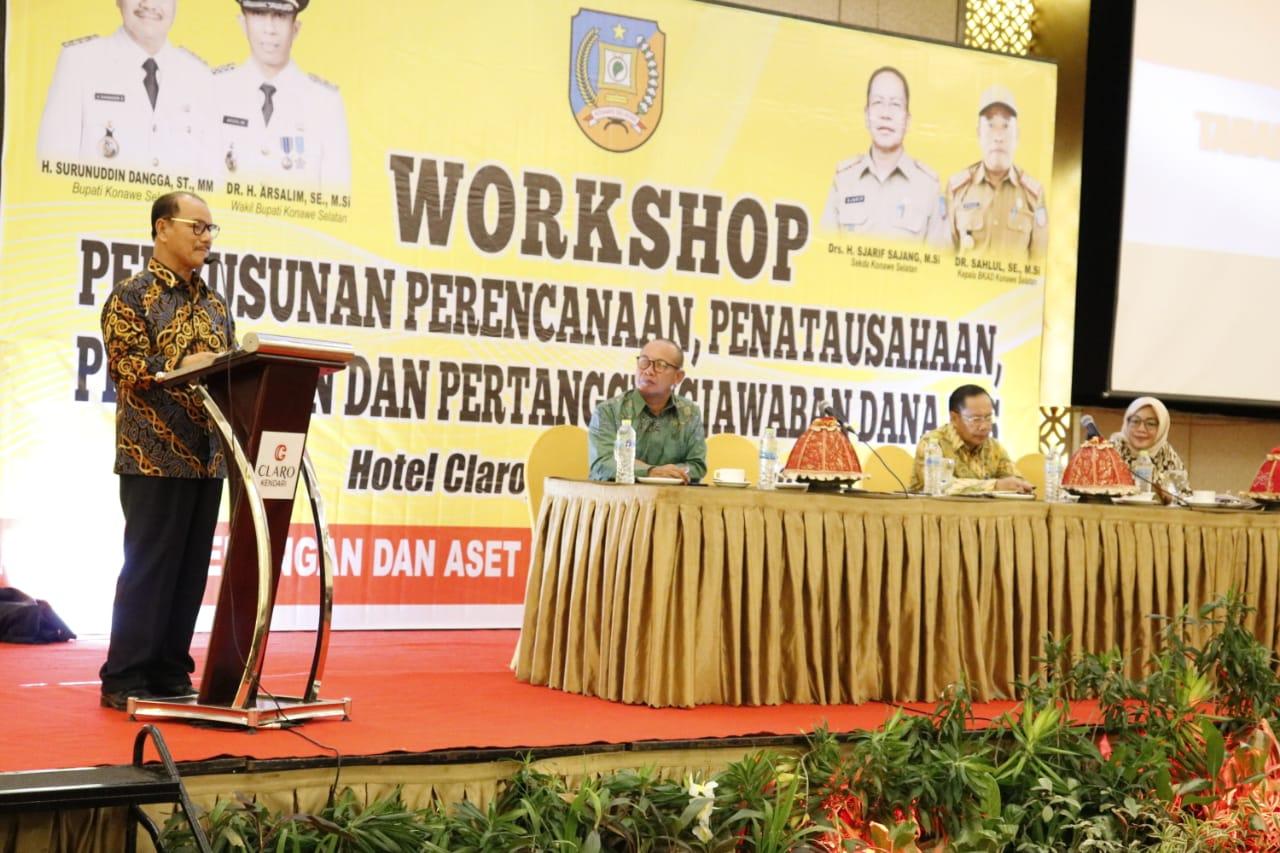 Ketgam : Workshop Penyusunan Perencanaan Anggaran, Penatausahaan, Pelaporan dan Pertanggungjawaban Dana Bantuan Operasional Sekolah (BOS)