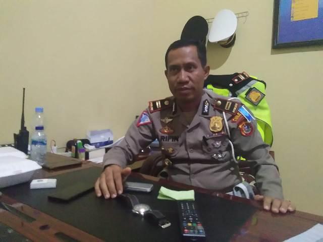 Inspektur Polisi Satu (Iptu) Arifin, S.Sos