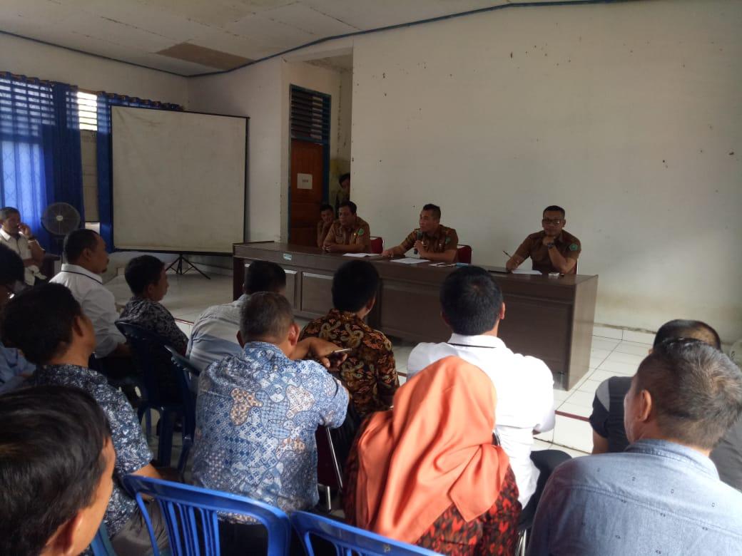 Ketgam : Rapat persiapan pelantikan kepala desa hasil pemilihan serentak di Kabupaten Konawe