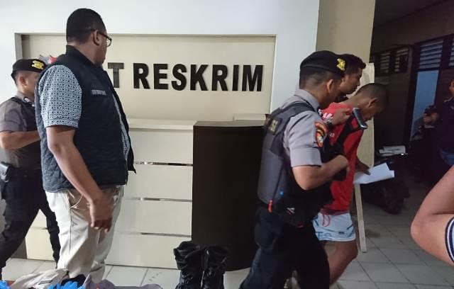 Ketgam : Pelaku saat di gladang masuk sel tahanan Polres Kondari