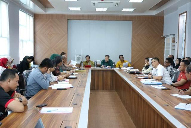 Rapat Evaluasi Monitoring Center Of Prevention (MCP) Program Koordinasi dan Supervisi Pencegahan Korupsi (Korsupgah) Komisi Pemberantasan Korupsi (KPK)