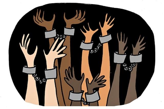 Ketgam : Ilustrasai Perbudakan