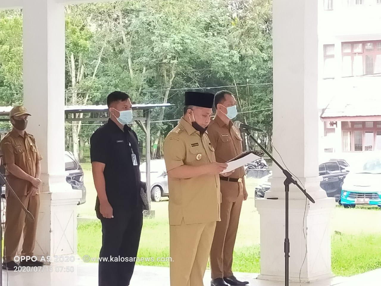 Ketgam : Kery Saiful Konggoasa di dampingi Sekda Konawe, Ferdinand