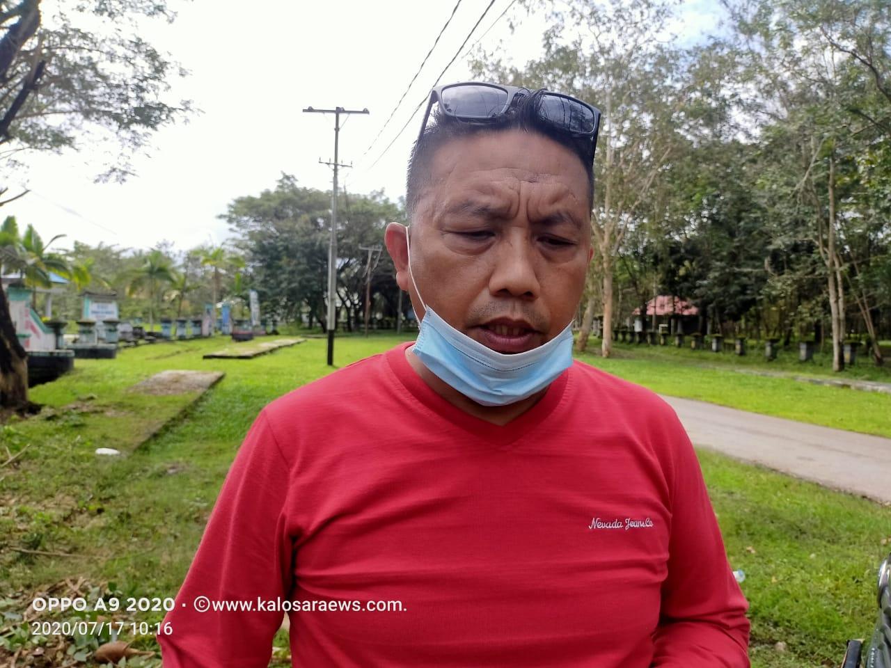 : Kepala Dinas Ketahahan Pangan Kabupaten Konawe, Muh. Akbar