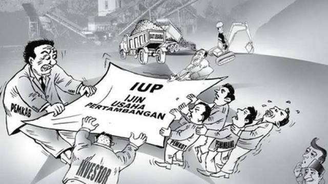 Ketgam : ilustrasi IUP Foto Ist