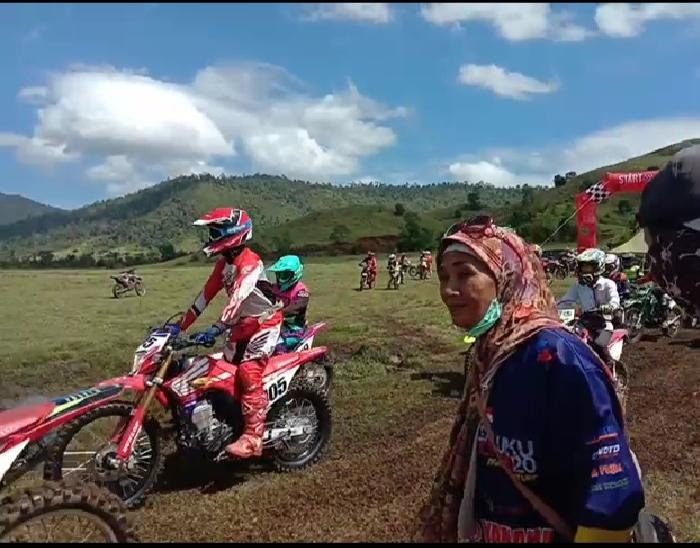 Ketgam : Kegiatan event Trail Ahuawali/foto; ist