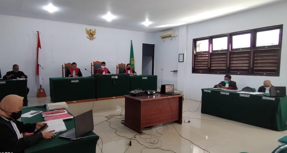 Ketgam : Sidang penuntutan PT Naga Bara Perkasa oleh pengadilan Negeri Unaaha